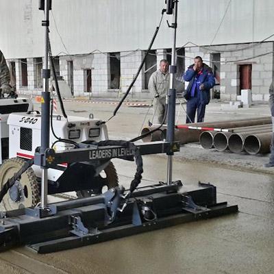 Лазерный укладчик бетона пск бетон сервис